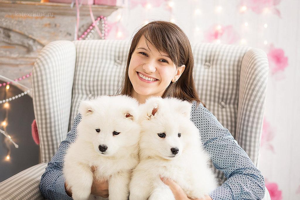 Фотосессии со щенками