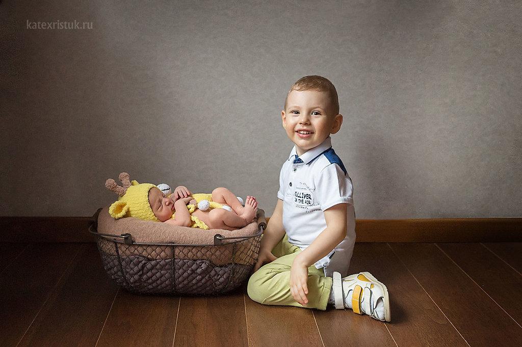 Фотосессия новорожденного в Люберцах