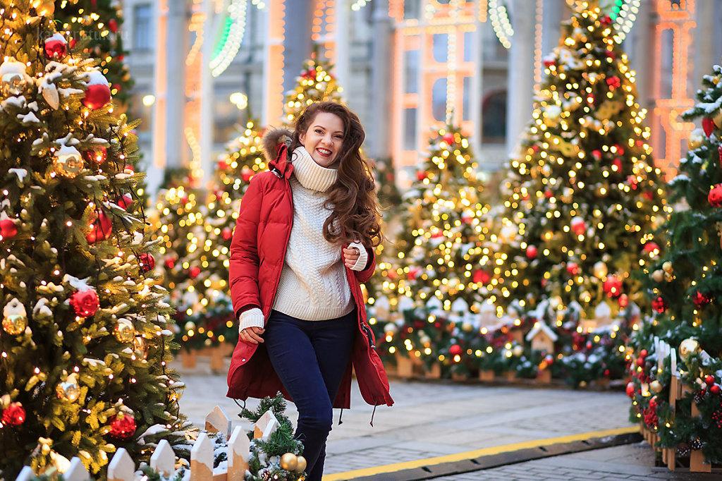 Новогодняя Фотосессия на Красной площади