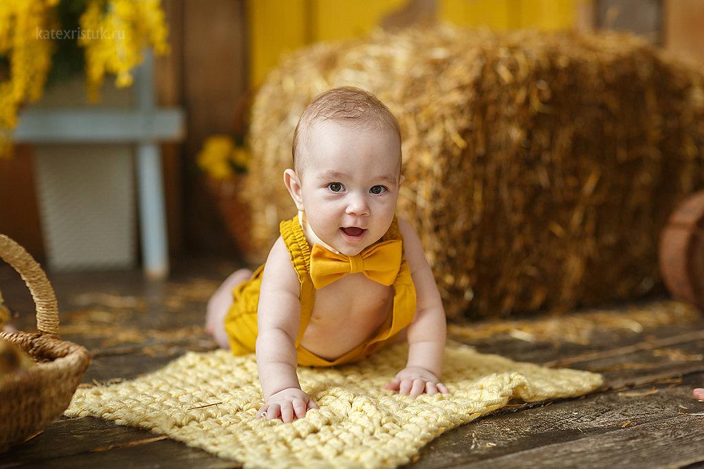 Фотосессия для малыша 3 мес